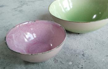 ColourBlush bowl ceramic